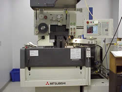 Mitsubishi wire EDM machines